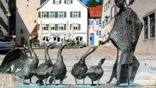 Altstadt Leutkirch am Gänsbühl © Susanne Baade