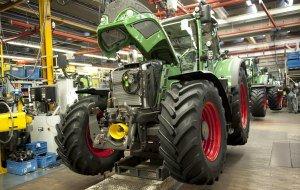 Fendt-Traktor bei der Herstellung © Allgäu GmbH, Bruno Maul, © Allgäu GmbH