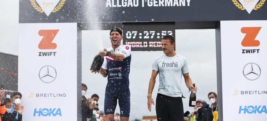 Triathlon Allgäu, der neue Weltrekord, TriBattle-Raceday_CE215401 © Tri Battle Royale, Jörn Pollex