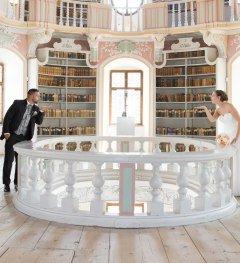 Bibliothek St. Mang © Füssen Tourismus und Marketing © Füssen Tourismus und Marketing