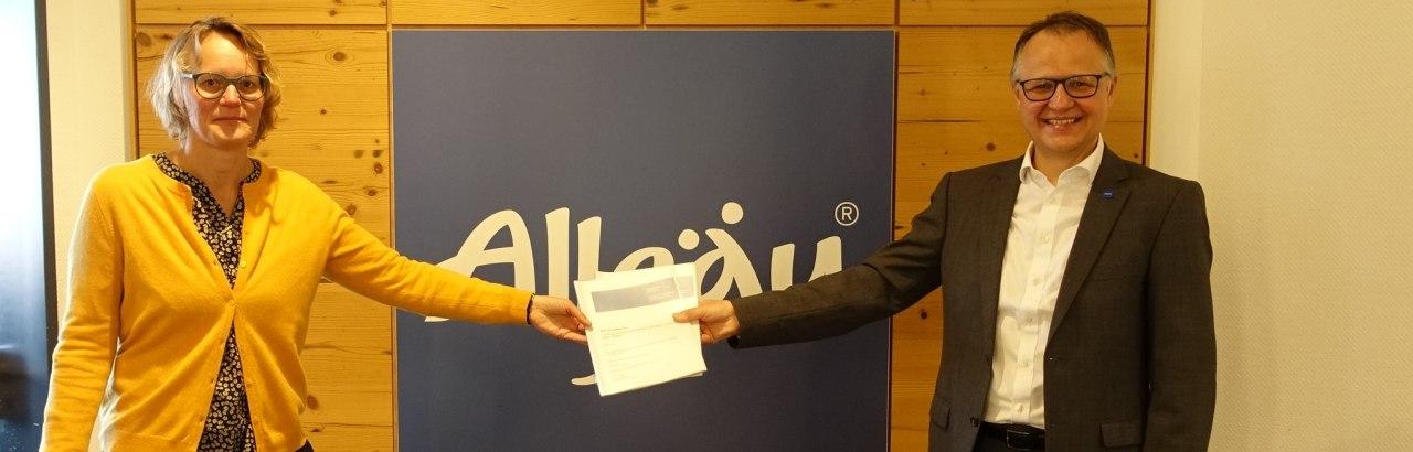 Übergabe der Studie © Allgäu GmbH, Simone Zehnpfennig