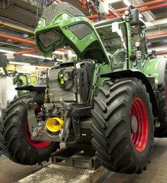 Fendt-Traktor bei der Herstellung © Allgäu GmbH, Bruno Maul © Allgäu GmbH