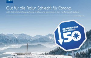 gemeinsam #unter 50 Anzeige, © Allgäu GmbH