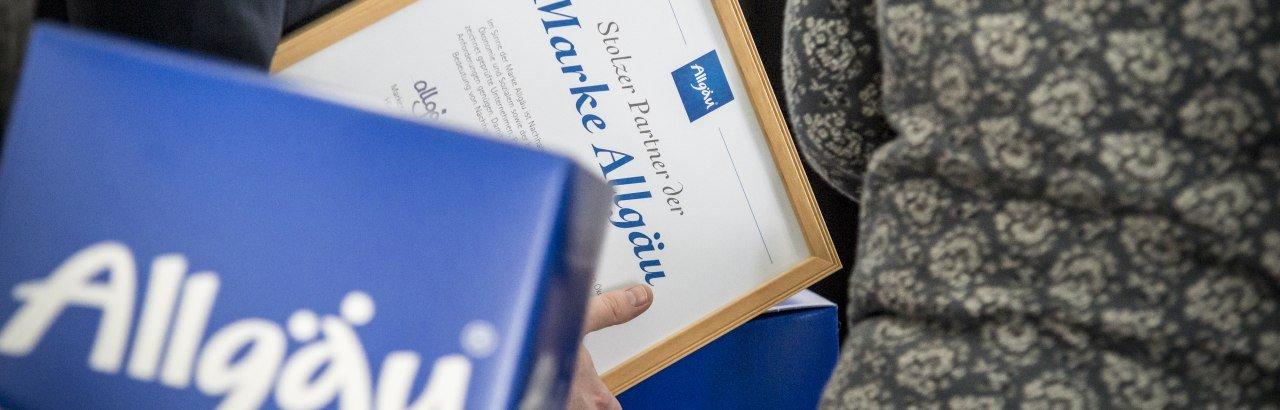Marke Allgäu © Allgäu GmbH.