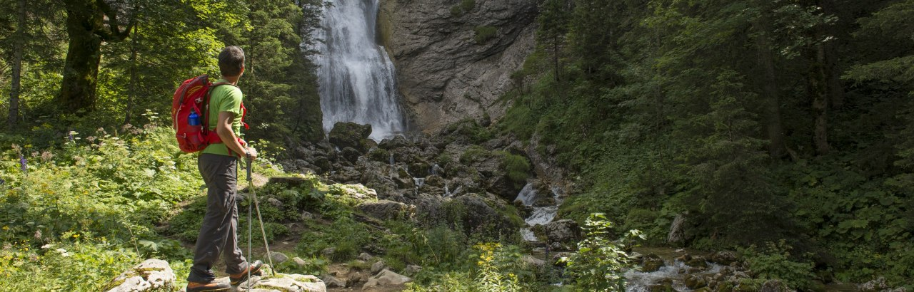 Kenzenbach Wasserfall Halblech © Allgäu GmbH, Klaus-Peter Kappest © © Kappest Allgäu GmbH