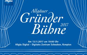 Allgäuer Gründer Bühne © Allgäu GmbH, © Allgäu GmbH