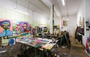 Atelier von Robert Wilhelm, © Robert Wilhelm