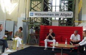 v.l.n.r.: Sophia Negro, Melanie Bindhammer, Dr. Domink Spitzer, Stephan Thomae (MdB), Matthias Fischbach (MdL), © Allgäu GmbH, Fabienne Dumas