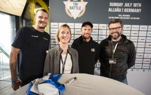 Jan Frodeno, Simone Zehnpfennig, Lionel Sanders, Stefan Egenter © tri-battle.com