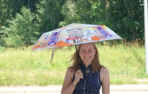Regenschirm als Souvenir, © Kempten Tourismus