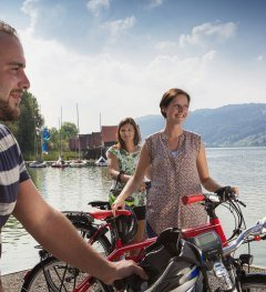 Illerradweg Fahrrad Abfahrt Alpsee Immenstadt  © Fouad Vollmer Werbeagentur Mittelbiberach