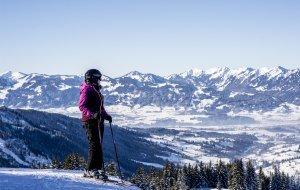 Ausblick von der Piste Oberjoch © Dominik Berchtold, © Dominik Berchtold