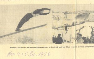 Sieger Anwander 1956, © Druckerei Mayr & Abel, Legau
