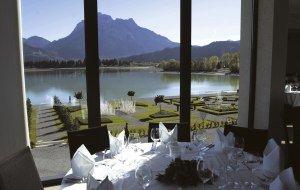Ludwigs Festspielhaus_Blick aus dem Restaurant © Füssen Tourismus und Marketing