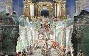 Besuch der Königin von Saba beim König Salomon, Mindelheimer Fackler-Krippe © Mindelheimer Museen, © Mindelheimer Museen